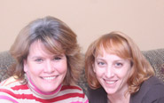 Rachel Lopez and Amy Bissonette